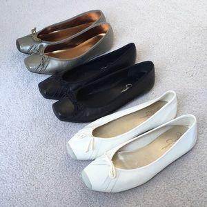 Bundle 3 Pair of Jessica Simpson Leve Ballet Flats